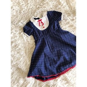 HARAJUKU MINI FOR TARGET KIDS blue puff dress